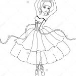 Disney Princess Ballerina Coloring Pages Disney Princess Ballerina Coloring Pages