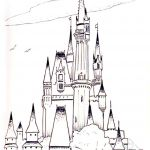 Disney Princess Castle Coloring Pages Disney Princess Castle Coloring Pages