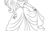 Disney Princess Coloring Pages Ariel In A Dress Disney Princess Coloring Pages Ariel In A Dress