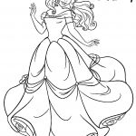 Disney Princess Coloring Pages Belle Disney Princess Coloring Pages Belle
