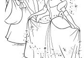 Disney Princess Coloring Pages Cinderella to Print Disney Princess Coloring Pages Cinderella to Print