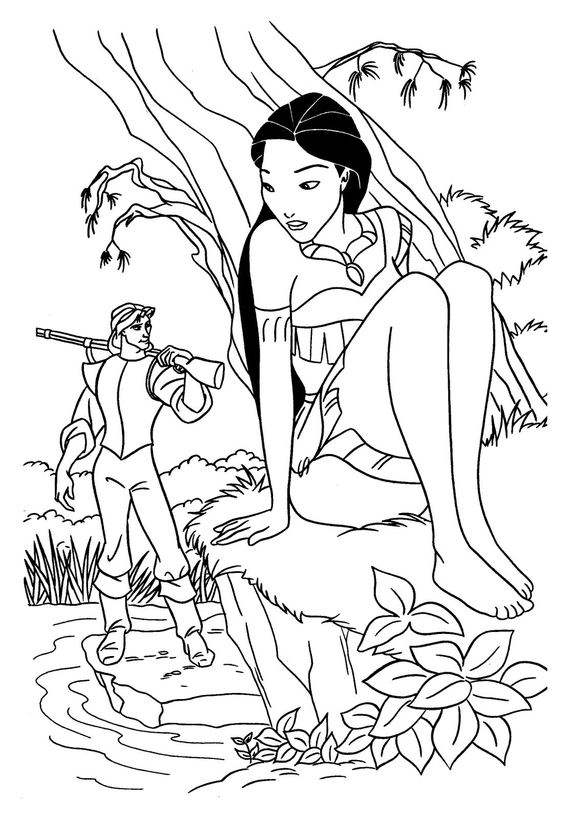 disney-princess-coloring-pages-pocahontas-of-disney-princess-coloring-pages-pocahontas Disney Princess Coloring Pages Pocahontas Cartoon