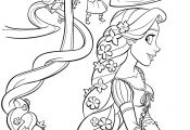 Disney Princess Coloring Pages to Print Rapunzel Disney Princess Coloring Pages to Print Rapunzel