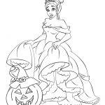 Disney Princess Halloween Printable Coloring Pages Disney Princess Halloween Printable Coloring Pages