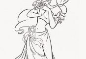 Disney Princess Jasmine Coloring Pages to Print Disney Princess Jasmine Coloring Pages to Print