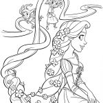 Disney Princess Tangled Coloring Page Disney Princess Tangled Coloring Page