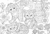 Dog Coloring Pages Printable Dog Coloring Pages Printable