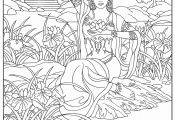 Doll Coloring Pages Doll Coloring Pages