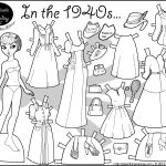 Doll Coloring Sheets Doll Coloring Sheets
