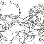 Dragon Ball Coloring Pages Dragon Ball Coloring Pages