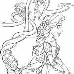 Easy Princess Coloring Page Easy Princess Coloring Page