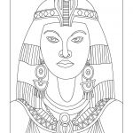 Egyptian Princess Coloring Pages Egyptian Princess Coloring Pages