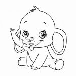 Elephant Face Coloring Page Elephant Face Coloring Page