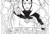 Evil Princess Coloring Pages Evil Princess Coloring Pages