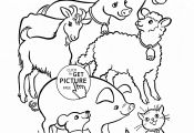 Farm Animal Coloring Pages for Preschoolers Farm Animal Coloring Pages for Preschoolers