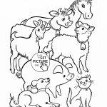 Farm Animal Coloring Sheets for Preschool Farm Animal Coloring Sheets for Preschool
