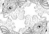 Fish Coloring Pages for Adults Fish Coloring Pages for Adults