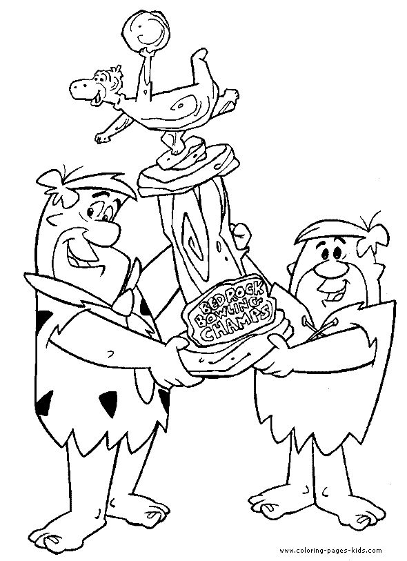 flintstones-coloring-pages-kids-coloring-page-cartoon-flintstones flintstones coloring pages | kids-coloring-page-cartoon-flintstones Cartoon
