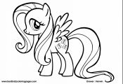 Fluttershy My Little Pony Coloring Page Fluttershy My Little Pony Coloring Page