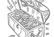 free coloring maps for kids | These cartoon pirate coloring pages are fun to col...