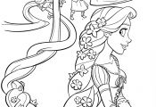 Free Coloring Pages Princess Rapunzel Free Coloring Pages Princess Rapunzel