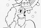 Free Printable Dog Coloring Pages Free Printable Dog Coloring Pages