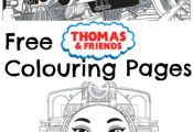 free printable thomas and friends colouring pages, from the new movie thomas & f...