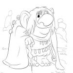 Frozen Trolls Coloring Pages Frozen Trolls Coloring Pages