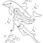 Full Size Barbie Coloring Pages Full Size Barbie Coloring Pages