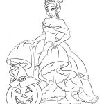Halloween Princess Coloring Pages Halloween Princess Coloring Pages