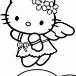 hello kitty coloring pages | Hello-kitty-coloring-pages-05