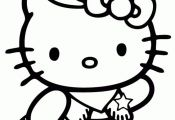 hello kitty elephant coloring pages - Google Search