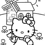 hello kitty get well soon coloring pages