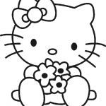 hello+kitty+free+printables | Hello Kitty para Colorear