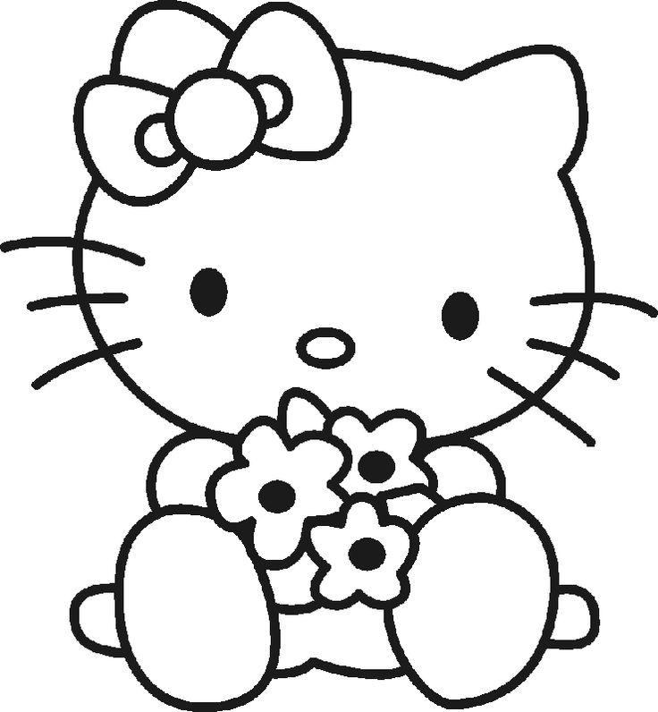 hellokittyfreeprintables-Hello-Kitty-para-Colorear hello+kitty+free+printables | Hello Kitty para Colorear Hello Kitty