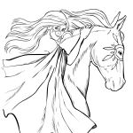 Horse Coloring Pages for Adults Horse Coloring Pages for Adults