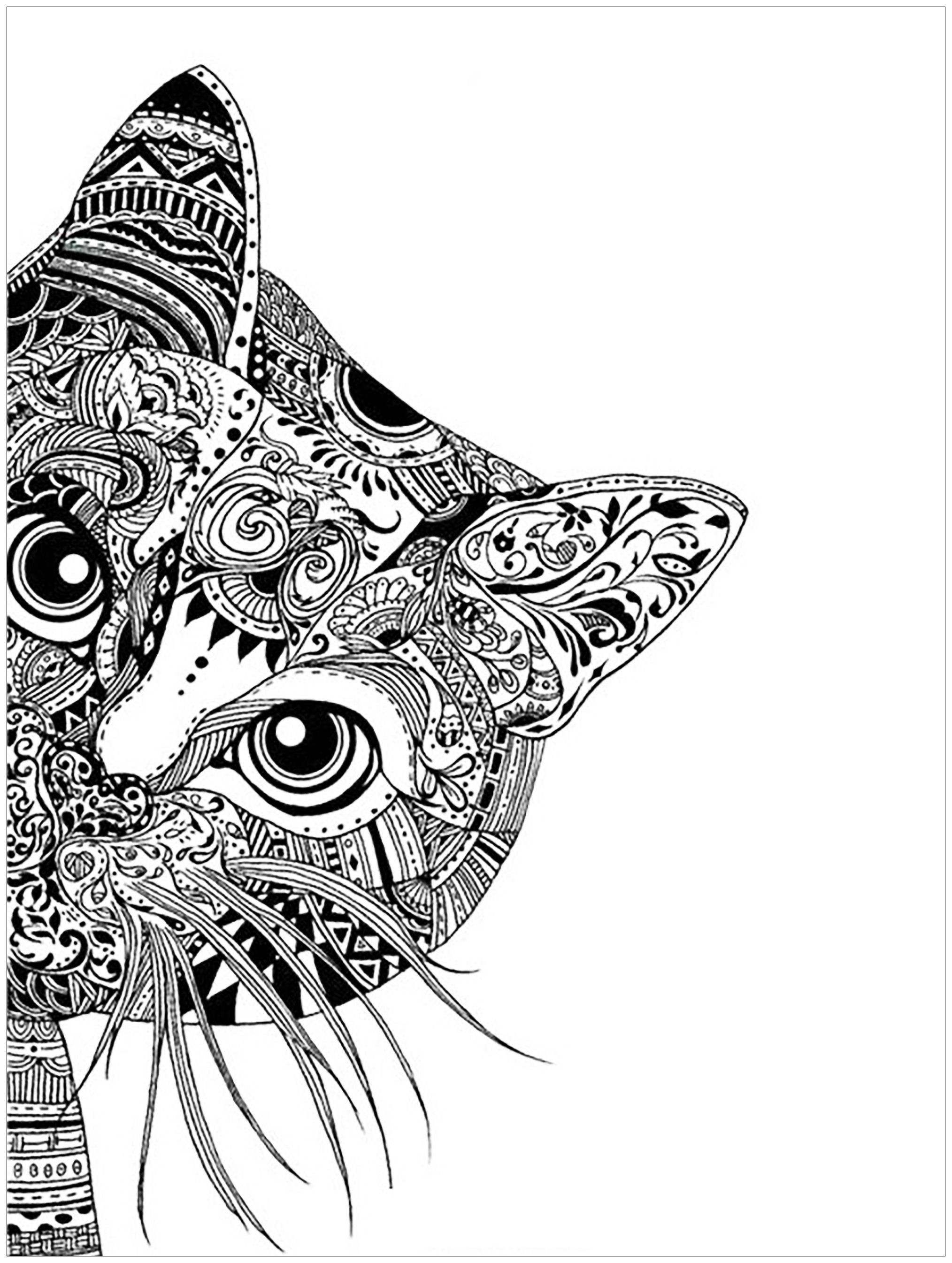 intricate-coloring-pages-animals-of-intricate-coloring-pages-animals Intricate Coloring Pages Animals Animal