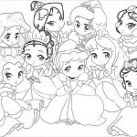 Large Princess Coloring Pages Large Princess Coloring Pages
