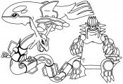 Legendary Pokemon Coloring Pages Rayquaza Legendary Pokemon Coloring Pages Rayquaza