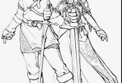Link Twilight Princess Coloring Pages Link Twilight Princess Coloring Pages