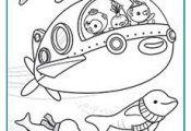 lots of octonauts printables — make a coloring book?   #cartoon #coloring #pag...