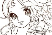 Manga Princess Coloring Pages Manga Princess Coloring Pages