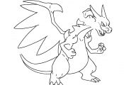 Mega Pokemon Coloring Pages Mega Pokemon Coloring Pages