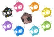 Minior Colors Pokemon Minior Colors Pokemon