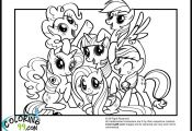 My Little Pony Friendship is Magic Coloring Page My Little Pony Friendship is Magic Coloring Page
