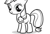 My Little Pony Friendship is Magic Coloring Pages Applejack My Little Pony Friendship is Magic Coloring Pages Applejack