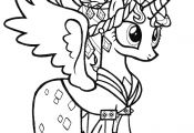 My Little Pony Princess Printable Coloring Pages My Little Pony Princess Printable Coloring Pages