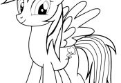 My Little Pony Rainbow Dash Coloring Pages My Little Pony Rainbow Dash Coloring Pages