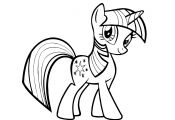 My Little Pony Twilight Sparkle Coloring Pages My Little Pony Twilight Sparkle Coloring Pages