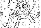 My Little Pony Unicorn Coloring Pages My Little Pony Unicorn Coloring Pages